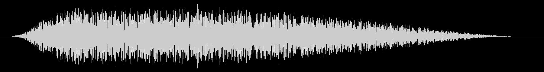 SNES 野球01-09(歓声)の未再生の波形