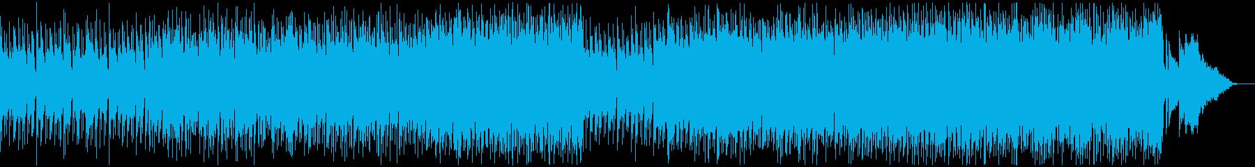 シリアスなドキュメンタリー向けの曲の再生済みの波形