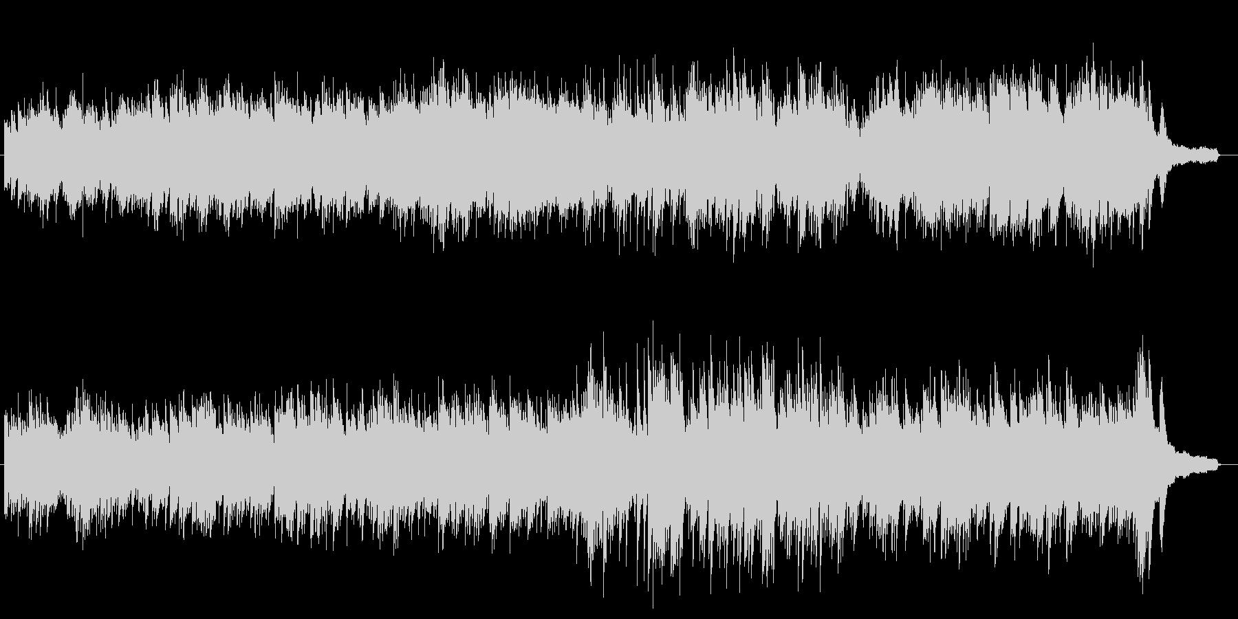 欧米でよく使われてるシネマティックピアノの未再生の波形