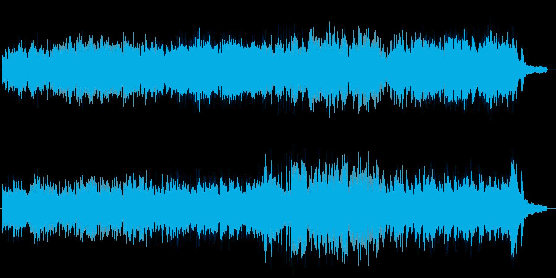 欧米でよく使われてるシネマティックピアノの再生済みの波形