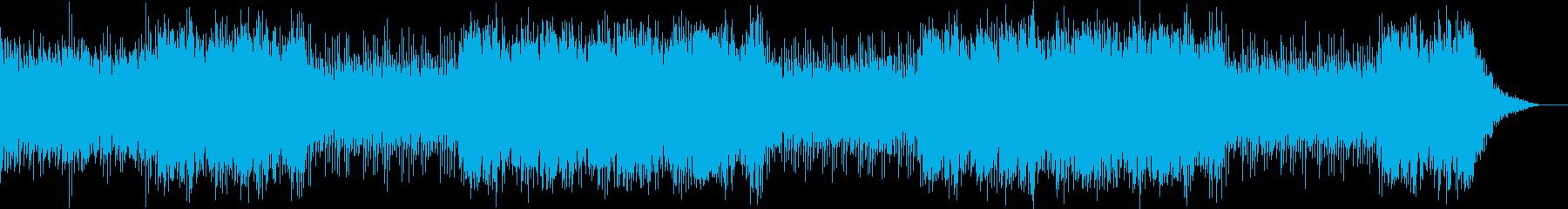 サスペンス現場で流れそうなホラーBGMの再生済みの波形