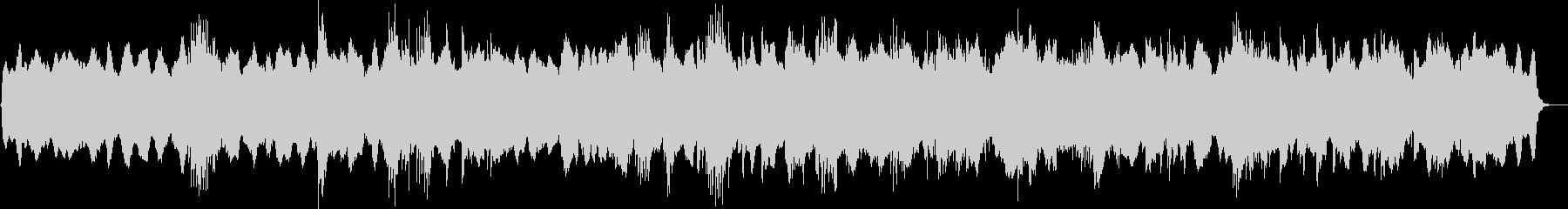 アラビアンフィーリングミュージックの未再生の波形