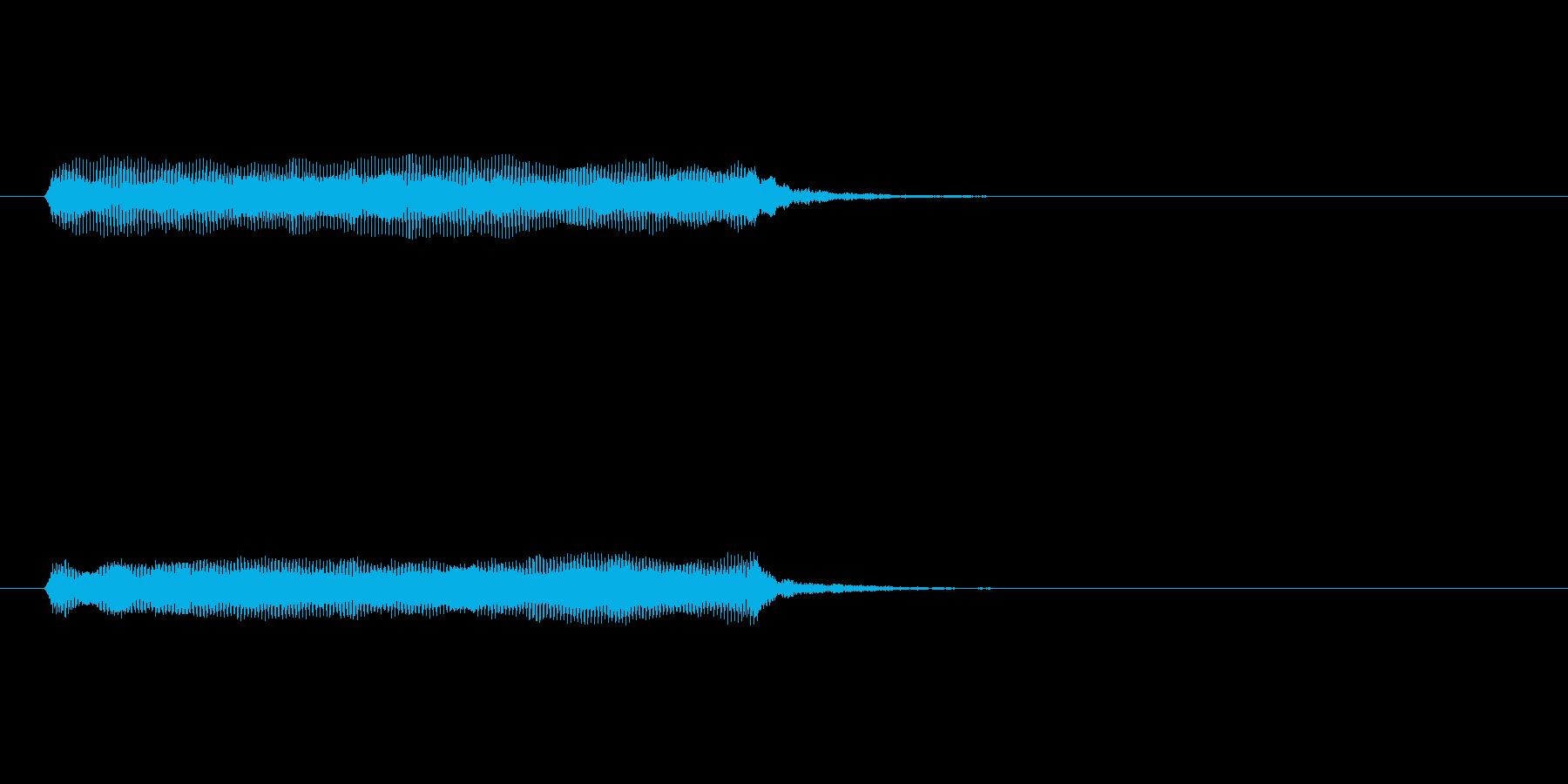 【開演ブザー01-1】の再生済みの波形