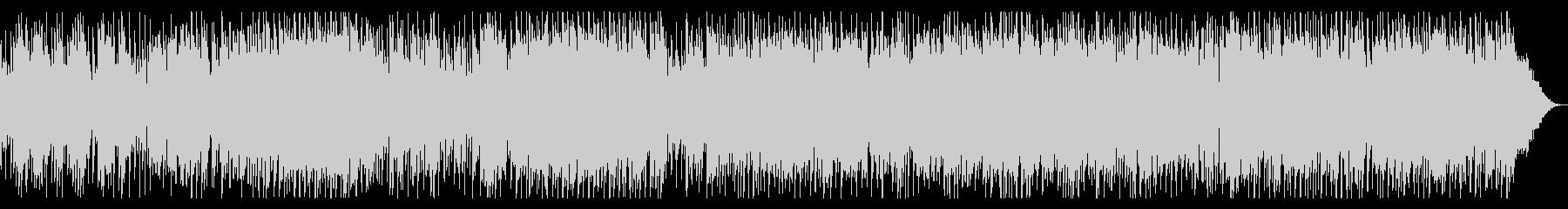 生音・エレキギターのブルースロックの未再生の波形