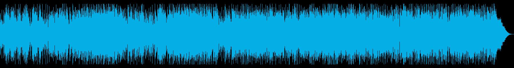 生音・エレキギターのブルースロックの再生済みの波形