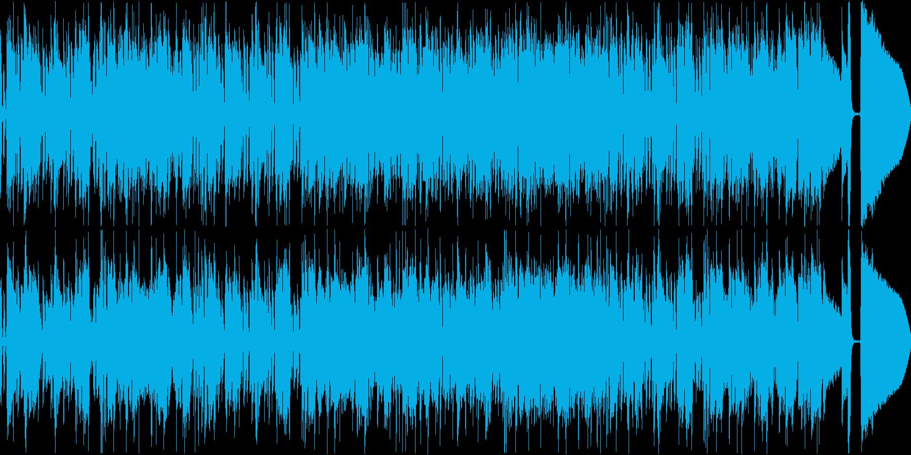 ファンキーなハッピーバースデートゥユーの再生済みの波形