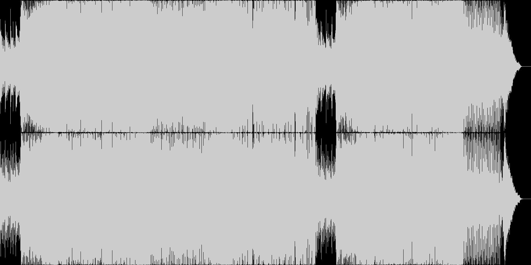 爽快でノリが良くキャッチーなEDMの未再生の波形