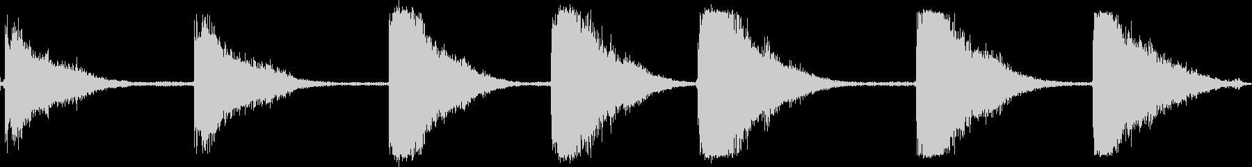 工作機械スキルソーの未再生の波形