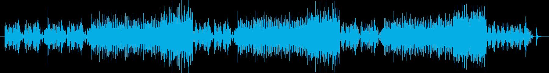 ミステリアスで素朴なメロディーの再生済みの波形
