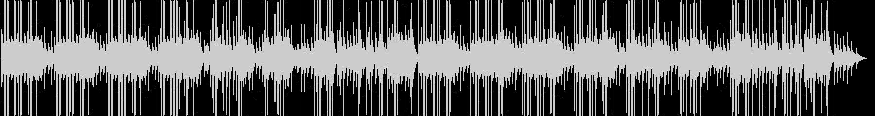 明るくかわいいポップなオルゴール曲の未再生の波形