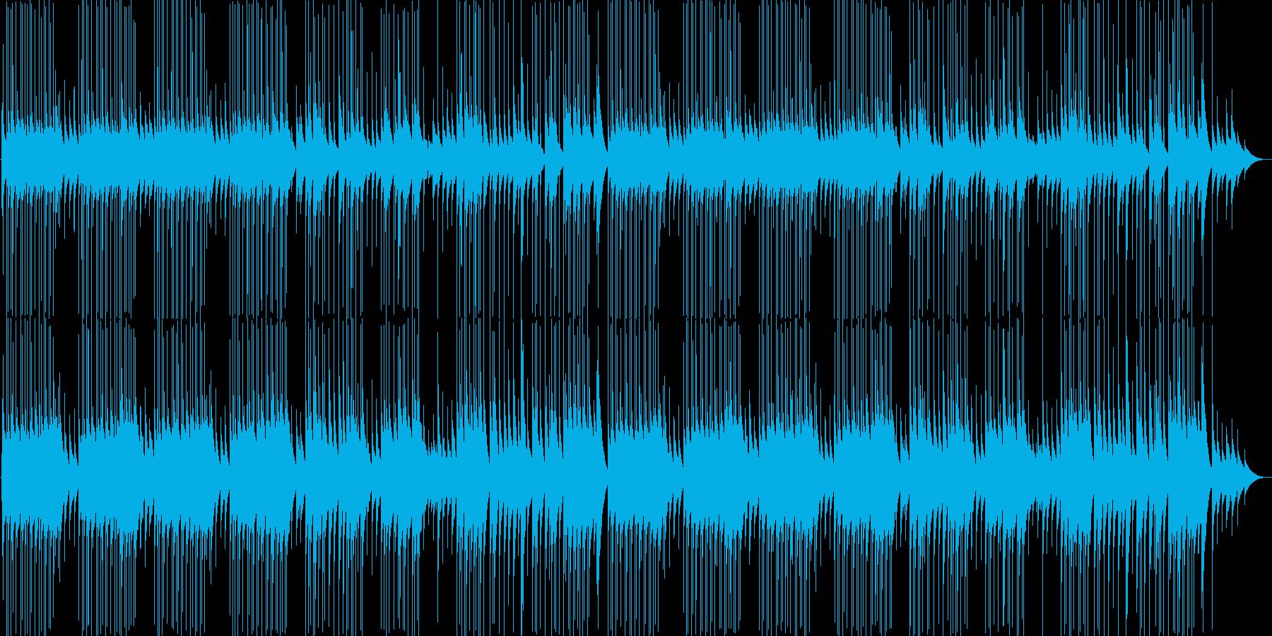 明るくかわいいポップなオルゴール曲の再生済みの波形