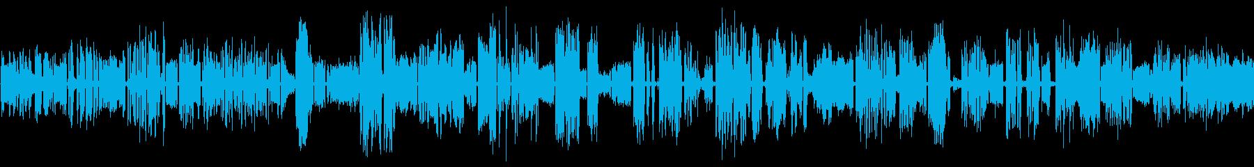 さまざまなホイッスル0-08の再生済みの波形