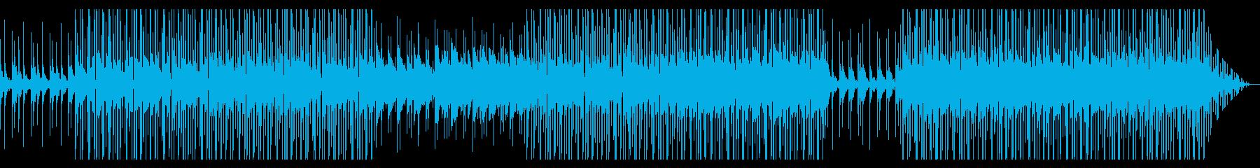 寒い冬の中の暖かさ アコギ ローファイの再生済みの波形