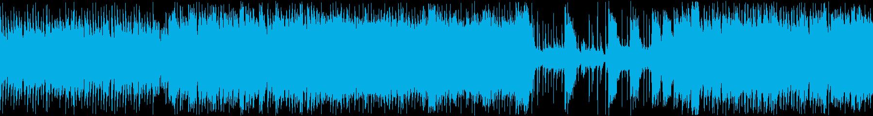 【ループBGM】動物ジャズロックショー!の再生済みの波形