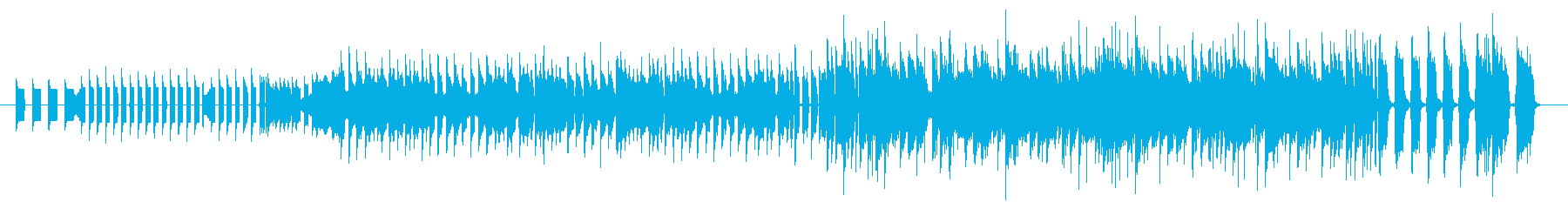 Retro game style SKA + electronica's reproduced waveform