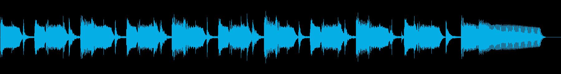 マルガリータ、速いテンポから遅いテ...の再生済みの波形