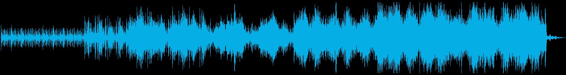 科学技術のテーマ。複雑で刺激的なハ...の再生済みの波形