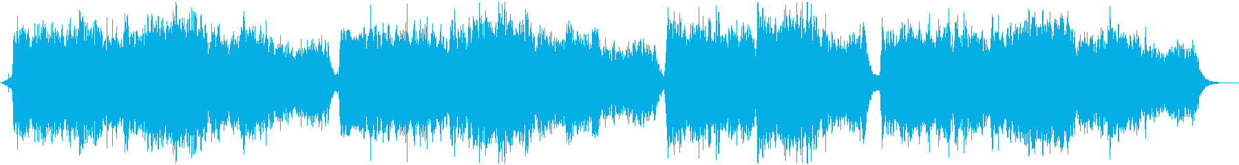 ヨガやマッサージ用リラクゼーションBGMの再生済みの波形