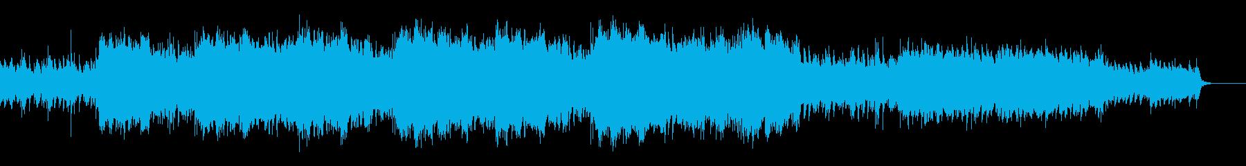 ★切迫した雰囲気のEpic系オーケストラの再生済みの波形
