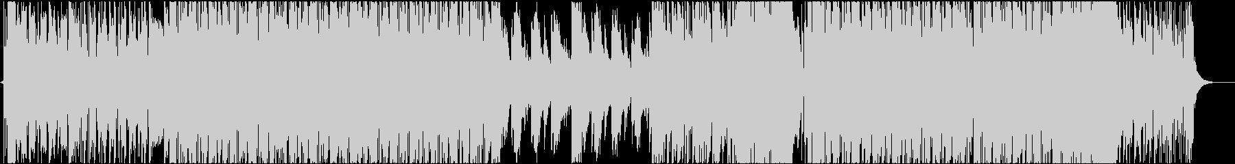 EDM系 カッコいいファンクギターBGMの未再生の波形
