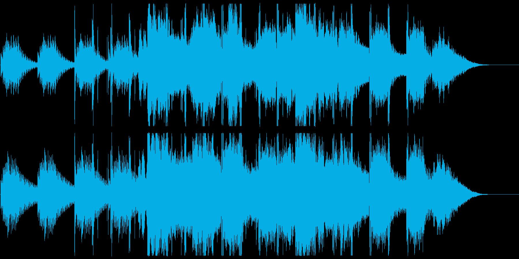 リラックスできるスローで優しいチルアウトの再生済みの波形