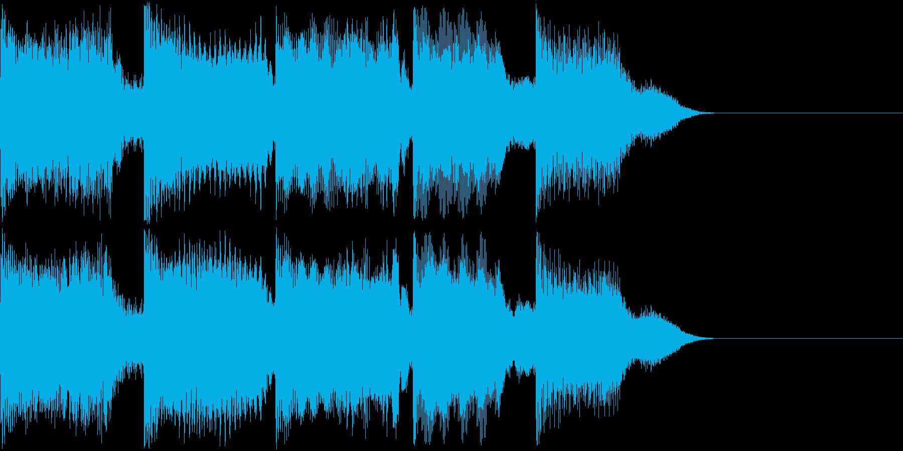 AI メカ/ロボ/マシン動作音 42の再生済みの波形