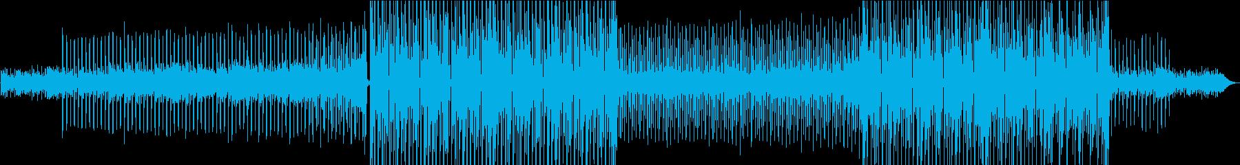 スタイリッシュでカッコイイ曲の再生済みの波形