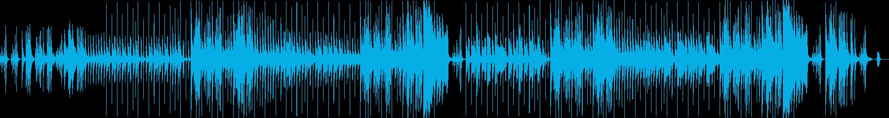 気まぐれな子供の音楽。ビデオゲーム...の再生済みの波形