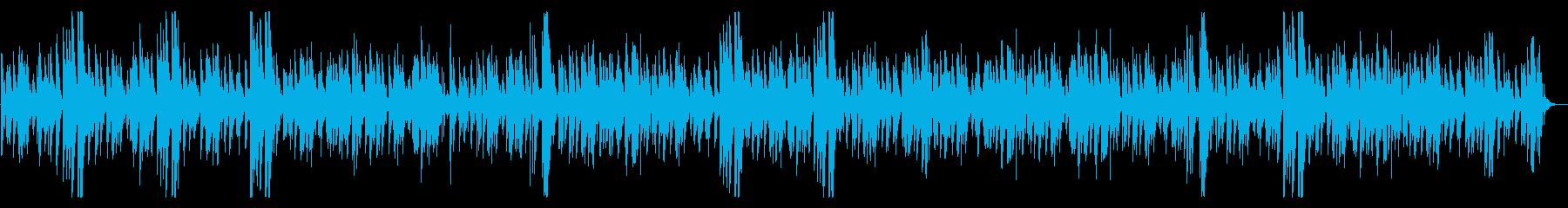 優しいお洒落モダンなジャズピアノバラードの再生済みの波形