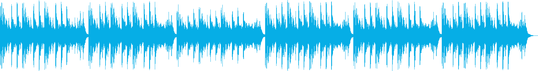 透明感のあるシンセサイザーサウンドの再生済みの波形