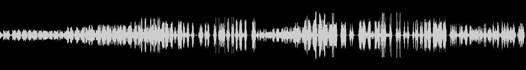 テープ巻き戻しの未再生の波形