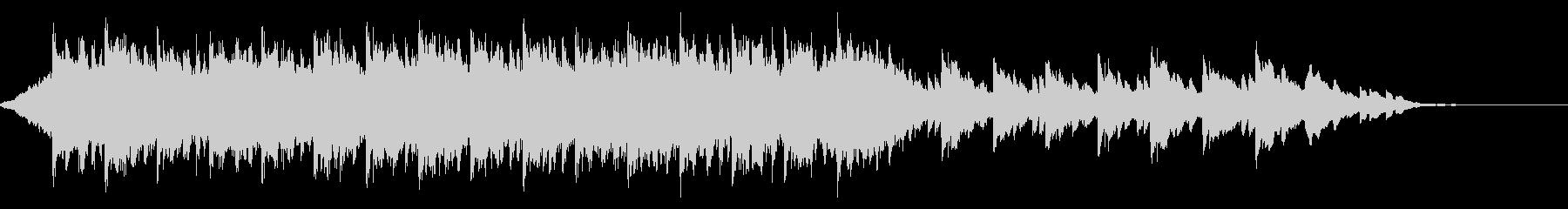 ウェディング<60秒CM>落ち着いた映像の未再生の波形