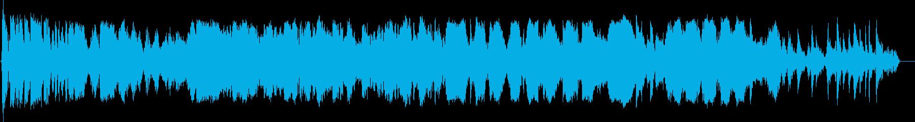 オートバイ;スタート/サークル;バ...の再生済みの波形
