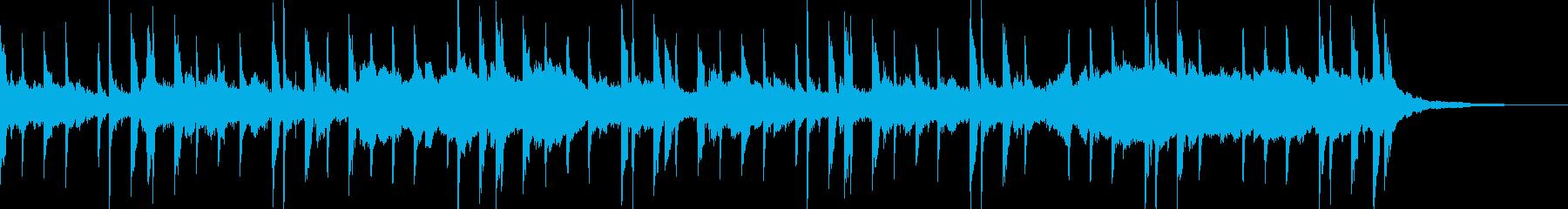 エンディングに適した優しいジングルの再生済みの波形
