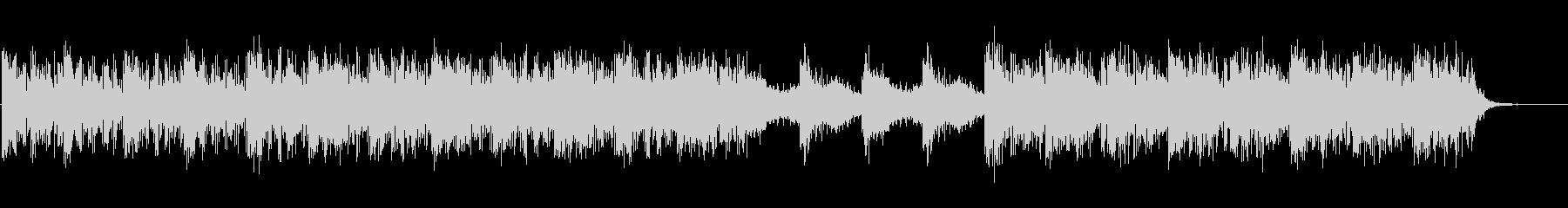 映像向けニューエイジ系のBGMの未再生の波形