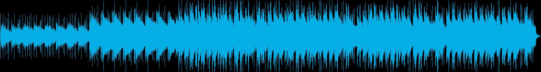 落ち着いた和風のLofi HipHopの再生済みの波形