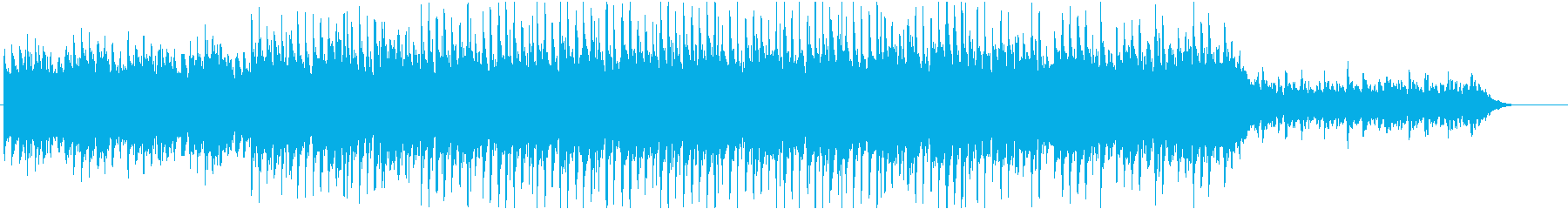 おしゃれで感動的なバラードの再生済みの波形