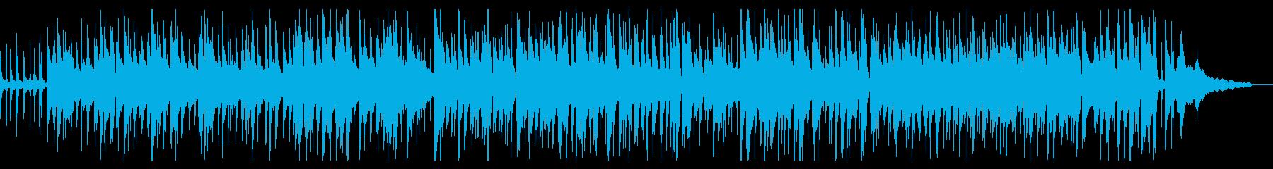大人ののんびり、ほのぼのなBGM2の再生済みの波形