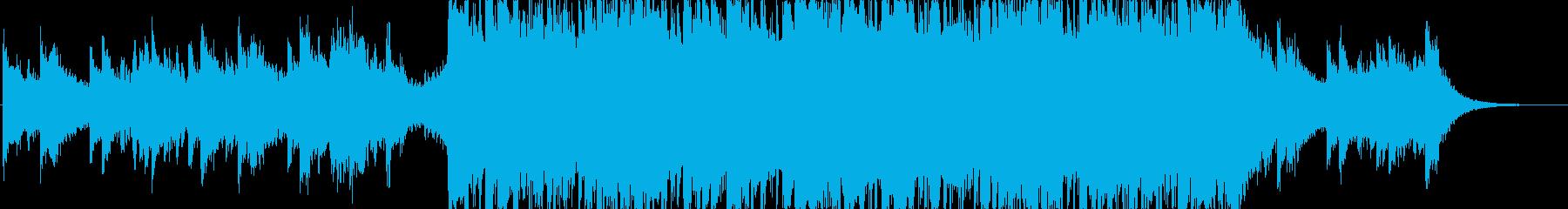 メロディアスで綺麗な印象のドラムンベースの再生済みの波形