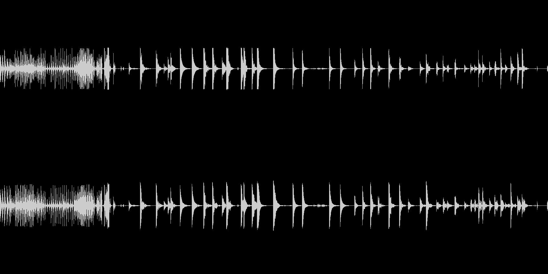 ベルテンプルリングマルチjの未再生の波形