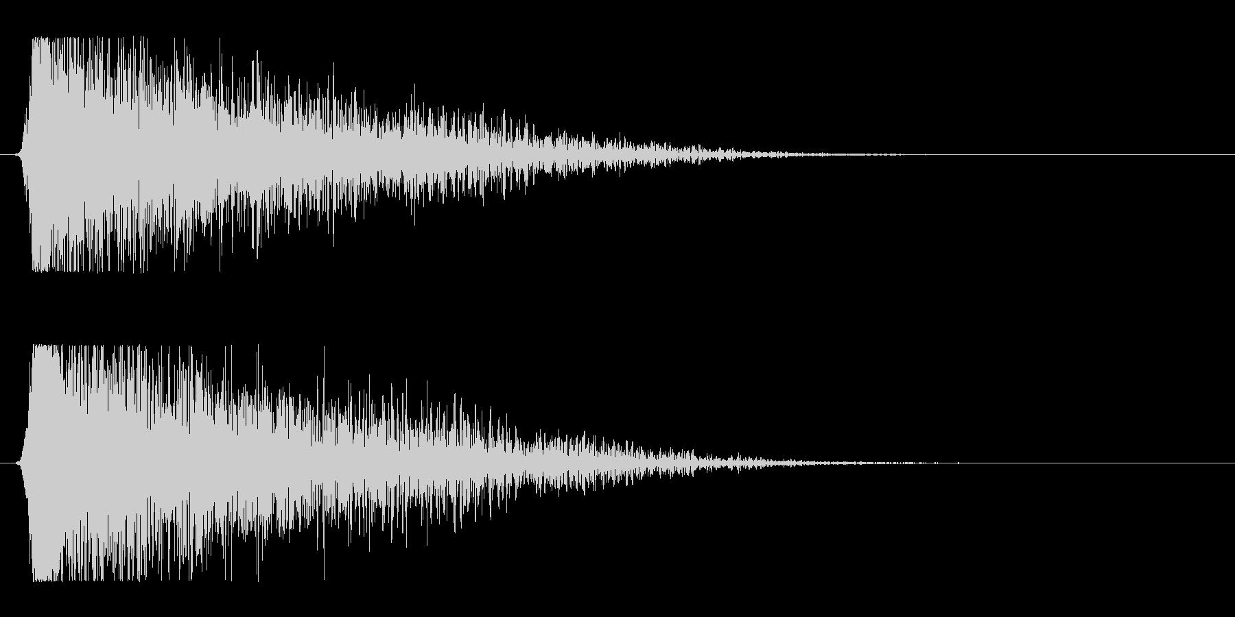 シュードーン-15(インパクト音)の未再生の波形