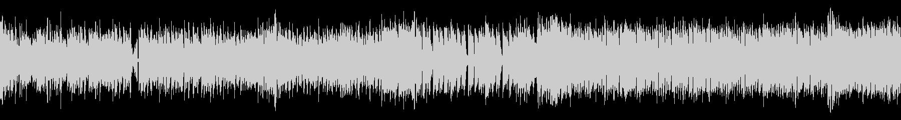 ノリノリ 明るいトランスっぽい曲 ループの未再生の波形