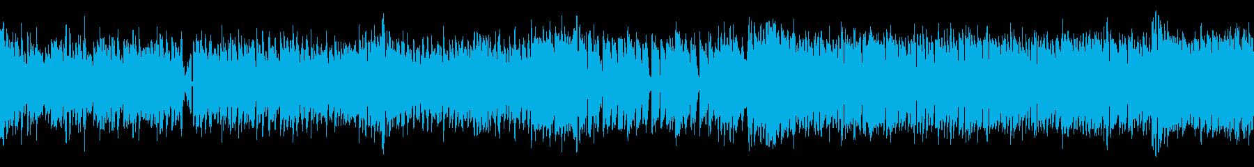 ノリノリ 明るいトランスっぽい曲 ループの再生済みの波形