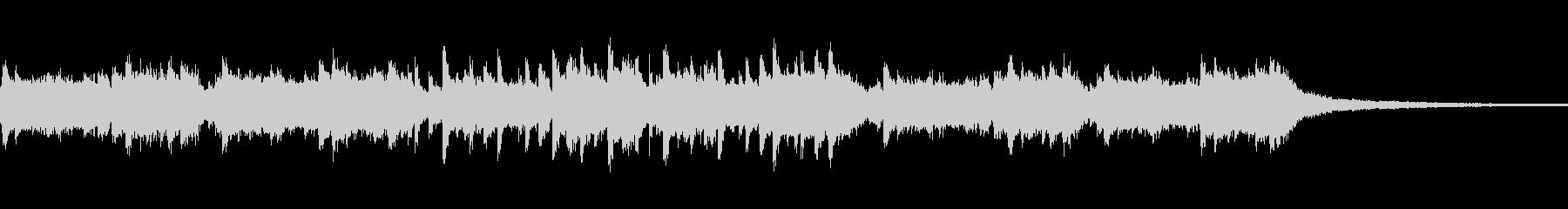 ゲーム向けなミステリアスな音楽の未再生の波形