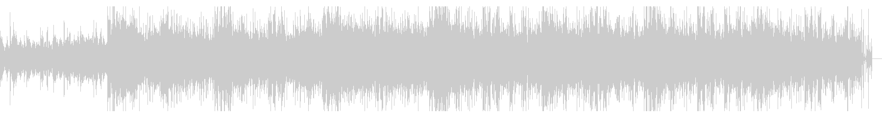 ミディアムダークなテクスチャの未再生の波形