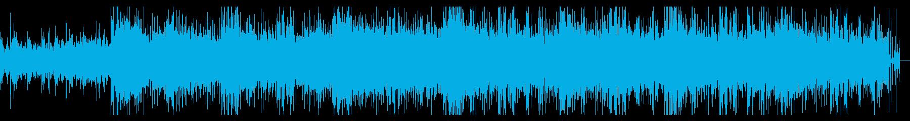 ミディアムダークなテクスチャの再生済みの波形
