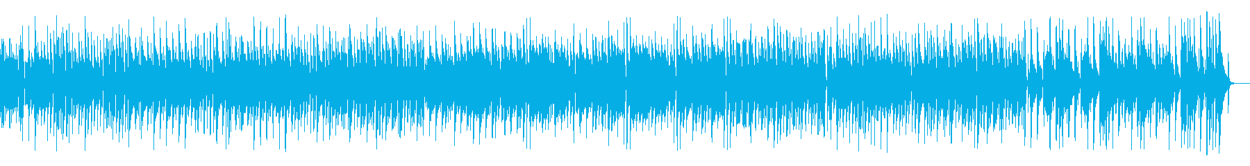 モーツァルトの有名曲をジャズ風にアレンジの再生済みの波形
