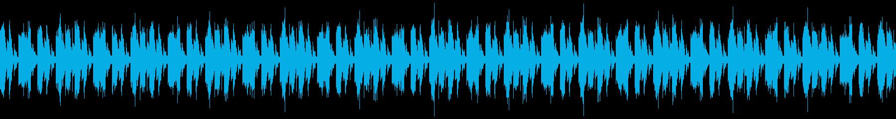EDM系のLoop楽曲の再生済みの波形