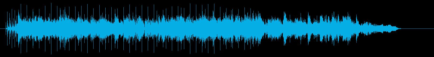 柔軟で軽快なアーバン・コテンポラリーの再生済みの波形