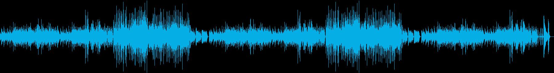 料理動画にぴったり!レトロ風ピアノBGMの再生済みの波形
